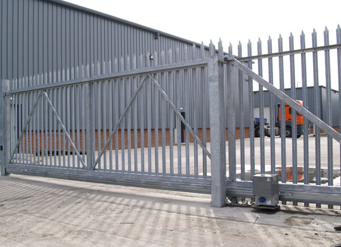 security gate installation